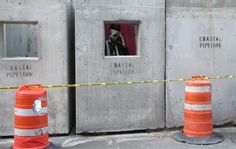 """Banksy """"Better Out than In"""" Manhattan oct 12th"""