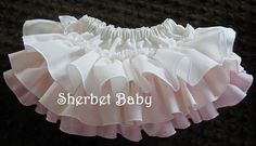 Sassy Pants Oh So Sweet Multi Pastels Ruffle Diaper by SherbetBaby, $32.00