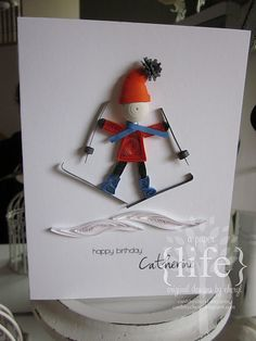 I like Chryl's cards. They are very simple and very beautiful.