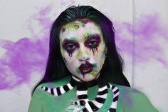 🖤Dabi🖤 Mi hermano me está haciendo leer my hero academia y tenía que hacer a Dabi, es una versión más tipo Creepy/glam pero me re gusta 🖤… My Hero Academia, Halloween Makeup, Instagram, Brother, Haloween Makeup, Halloween Make Up