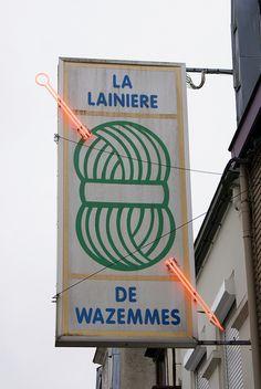 la lainiere de wazemmes by wood & wool stool, via Flickr