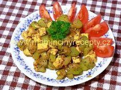Kari cuketa s tofu Tofu, Potato Salad, Potatoes, Fit, Ethnic Recipes, Potato