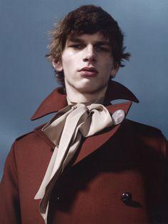 Erik Van Gils ph Willy Vanderperre for Vogue Hommes S/S 2015
