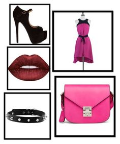 """Untitled #3"" by tahira-adis-hadzic ❤ liked on Polyvore featuring Leifsdottir, MCM and Lime Crime"
