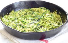 How to make Zucchini Noodles (Zoodles) in three easy steps by Elana's Pantry