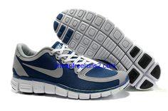Cheap Nike Free 5.0 V4 Men's Shoe Navy/Wolf Grey