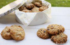 Bocadosdecielo: Galletas de mantequilla de cacahuetes/ Peanut butter cookies