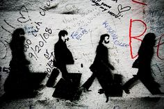 Abbey Road Stencil by DART.IMAGES, via Flickr