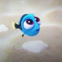 she is soooooooooo adorable! Baby Dory from Finding Dory! Disney Pixar, Walt Disney, Disney Nerd, Cute Disney, Disney Girls, Disney And Dreamworks, Disney Animation, Disney Magic, Doris Nemo