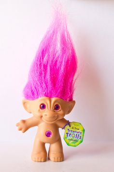 Hot Pink Treasure Troll