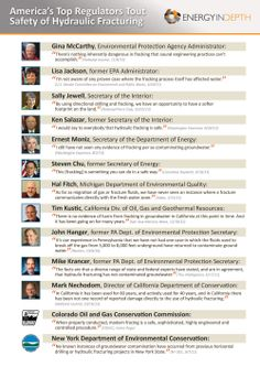America's Top Regulators Tout Safety of Hydraulic Fracturing Environmental Protection Agency, Oil Industry, We Energies, Natural Resources, Oil And Gas, Charts, Maps, Infographic