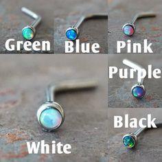 Purple And Black, Pink Purple, Blue Green, Nose Piercing Jewelry, Piercings, Body Jewelry, Unique Jewelry, Jewlery, Dream Catcher Necklace