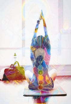 Yoga can heal the mind, body & spirit <3