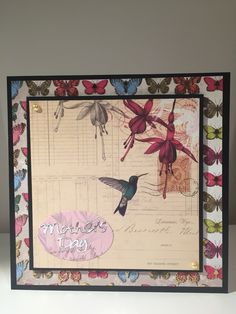 Mothers Day card (Craftwork Paradise)
