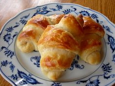 """homemade croissants from """"french women don't get fat"""", posted on shesingsatthetable.com"""