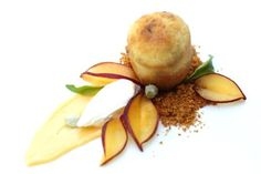 peach baba au rhum, great pastry and fine dining blog(deconstructed pie?)