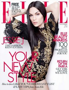 Jessie J for Elle UK November 2012