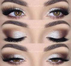 The Sparkling Magic of DIY Glitter Eye Makeup Silber Glitter Make-up Related posts: 60 Best Eye-Catcher Schöne Glitter Eye Makeup Inspirierende Idee für Prom – Seite 9 von 63 Red Glitter Eyeshadow Prom Eye Makeup, Fancy Makeup, Wedding Makeup Looks, Makeup For Green Eyes, Smokey Eye Makeup, Sweet 16 Makeup, Homecoming Makeup, Glasses Eye Makeup, Formal Eye Makeup
