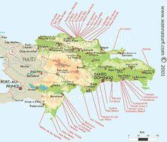 Dominican Republic - surf spots