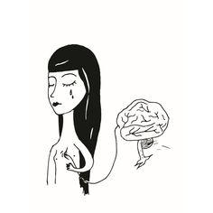 "Consapevolezza , illustration drawing of the story ""Coscienza e Superficialità"" by Francesca Manuguerra"