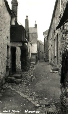 Duck Street - Mousehole. I had family who live here; great way to spend the summer holiday.