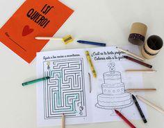 Blog de los detalles de tu boda | Libro de actividades descargarble para niños en boda gay | http://losdetallesdetuboda.com/blog/libro-actividades-ninos-gratis-boda-gay/