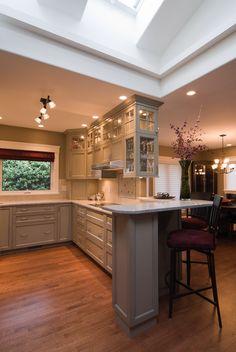 Complete Cottage renovation. New layout, windows, kitchen, tiles, floor, skylight, etc