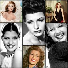 R4R's Current Crush: Rita Hayworth- American actress, flawless goddess and former royal wife