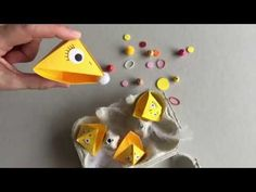 Sorting game with origami birds: feed nestlings . Easy Diy Crafts, Crafts For Kids, Nester, Origami Birds, Sorting Games, Origami Easy, Bird Feeders, Kindergarten, Bunny