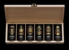 This Exotic Coffee Box Packaging Highlights Coffee from Around the World #drinking trendhunter.com