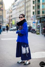 STYLE DU MONDE / Paris Fashion Week FW 2014 Street Style: Before Hermes  // #Fashion, #FashionBlog, #FashionBlogger, #Ootd, #OutfitOfTheDay, #StreetStyle, #Style