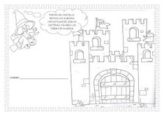 ESOS LOCOS BAJITOS DE INFANTIL: MAS FICHAS DEL PROYECTO LOS CASTILLOS Diagram, Image, Google, Kids, Early Education, School, Castles, Princess Castle, Medieval Castle