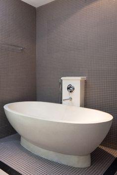 tolles badezimmer mit steinmosaik liste pic der baaecbecfaeda
