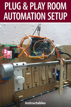 MAKE_IT WITH_ME used an #Arduino beginners kit to create a cheap plug and play room automation setup. #Instructables #electronics #technology Useful Arduino Projects, Go Kart, Playroom, Plugs, Robot, Technology, Kit, Electronics, Create