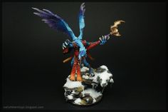 Age of Sigmar | Daemons of Tzeentch | Lord of Change by Well of Eternity #warhammer #ageofsigmar #aos #sigmar #wh #whfb #gw #gamesworkshop #wellofeternity #miniatures #wargaming #hobby #fantasy