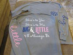 Here's to You Here's to Me Big & Little We'll by BlingByBates