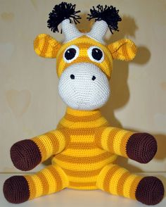 no - Garn Blend Bamboo Crochet Baby Toys, Crochet Animals, Crochet For Kids, Diy Crochet, Amigurumi Toys, Little People, Tigger, Hello Kitty, Dinosaur Stuffed Animal