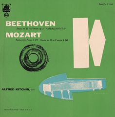 Gorgeous vintage record sleeves for classical music albums
