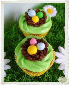 Niditos para decorar cupcakes