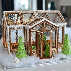 This gingerbread house is something absolutely awesome