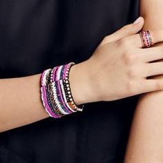 mark. By Avon Show Your Stripes Bracelet
