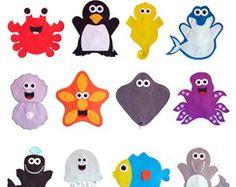 Fantoches Animais do Mar / Marinhos