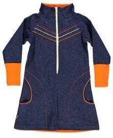 Albababy jurk Berdine blauw