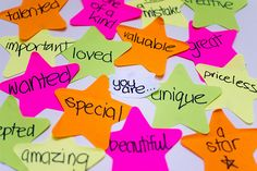 Some ideas and activities for leading a youth work session around the theme of self-esteem