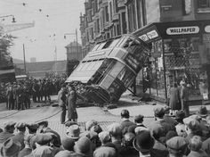 Primrose Street, Glasgow. 18th May 1931. The shop is now Scotstoun Emporium.