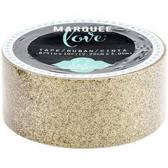 American Crafts Glitter Tape, Gold - with it girls Artist Supplies, Craft Supplies, Heidi Swapp, Valentine Day Crafts, American Crafts, Washi Tape, Sewing Crafts, Discount Rugs, Discount Price