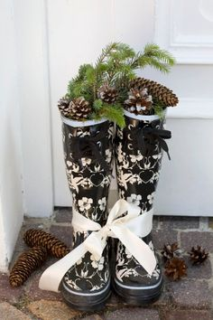 Even this can be Xmas decor!