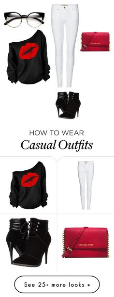 """Cute Casual"" by y-manriquez on Polyvore featuring Burberry, C Label and Michael Kors"