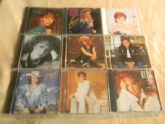Lot of NINE Classic Reba Mc Entire CD's/From Collector! MINT!