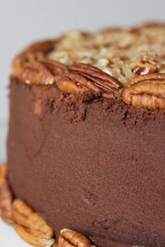 Baked Perfection: German Chocolate Cake. We used this recipe for the pecan frosting.